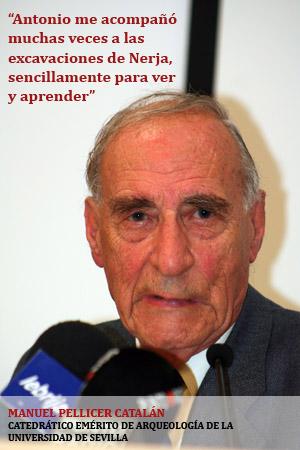 """Antonio Caro reconoció siempre en Manuel Pellicer a su """"Maestro"""". - jph_manuelpellicer1"""